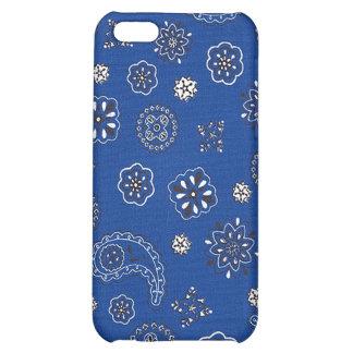 Blue Bandana iPhone Case iPhone 5C Cases