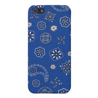 Blue Bandana iPhone Case
