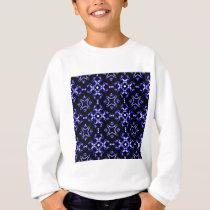 Blue Bandana Pattern Sweatshirt