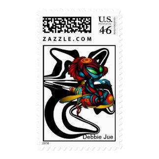 Blue Bandit Stamps