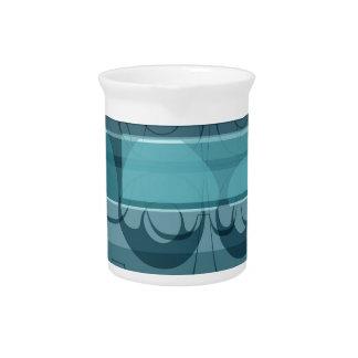 Blue banner pitcher
