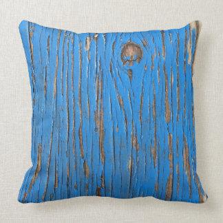Blue Barn Pillow
