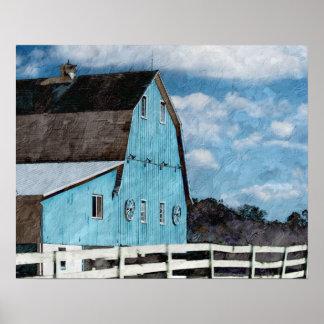 Blue Barn poster