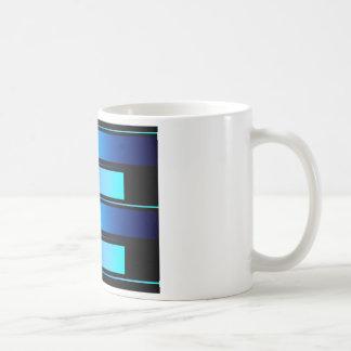 Blue Bars # 8 Coffee Mug