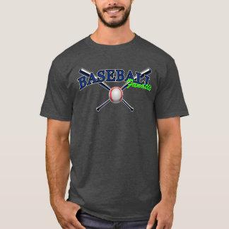 Blue Baseball fanatic with ball and bats 2 T-Shirt