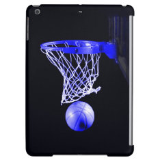 Blue Basketball Case For Ipad Air at Zazzle