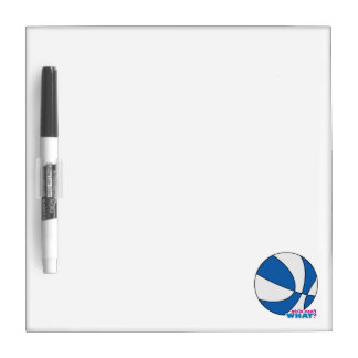 Blue Basketball Dry-Erase Boards