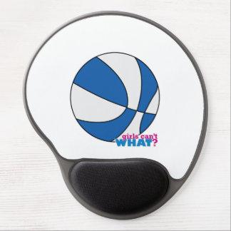 Blue Basketball Gel Mouse Mat