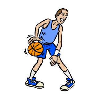 Blue basketball guy acrylic cut out