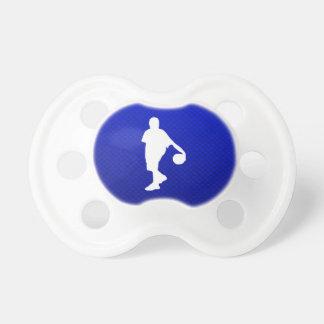 Blue Basketball Pacifier