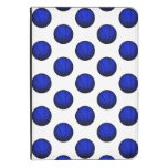 Blue Basketball Pattern Kindle 4 Cover