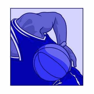 Blue Basketball Acrylic Cut Outs