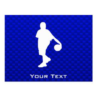 Blue Basketball Postcard