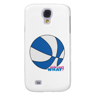 Blue Basketball Samsung Galaxy S4 Cover
