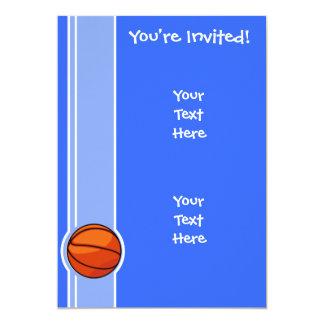 Blue Basketball; Sport Card