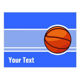 Blue Basketball; Sport Postcard