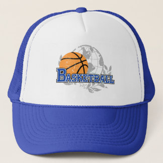 Blue Basketball T-shirts and Gifts Trucker Hat