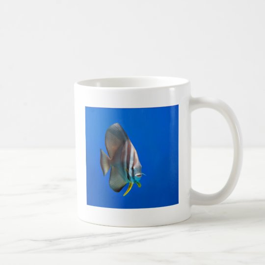 Blue Bat Fish Coffee Mug