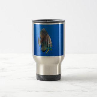 Blue Bat Fish Coffee Mugs