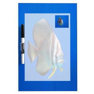 Blue Bat Fish Dry-Erase Board