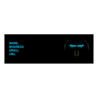 Blue Bat Mini Business Card