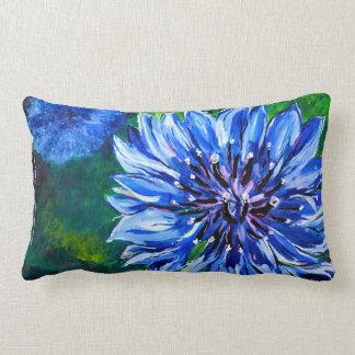 Blue Batchelor Button Pillow