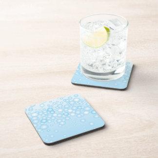 Blue Bath Bubbles Coasters