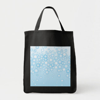 Blue Bath Bubbles Tote Bag