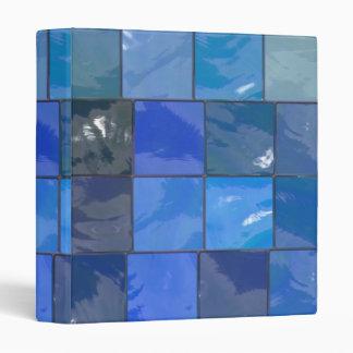 Blue Bathroom Tiles Design Binder