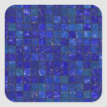 Blue Bathroom Tiles Sticker