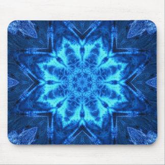 Blue Batik Mouse Pad