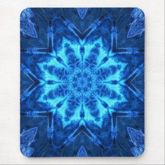 Blue Batik Mouse Pads