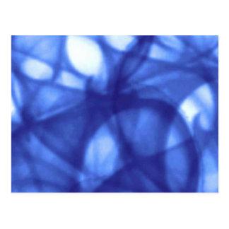 blue_batik_pattern postcard