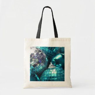 Blue Baubles tote bag