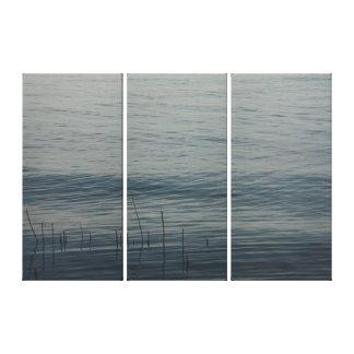 Blue Bay #5849 Canvas Print