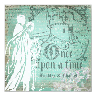 Blue Be My Valentine Once Upon a Time Invitation