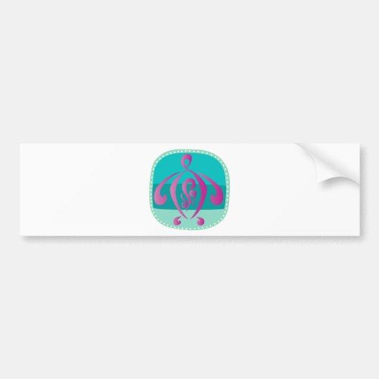 Blue-beach Bumper Sticker