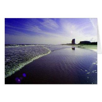 Blue Beach Card