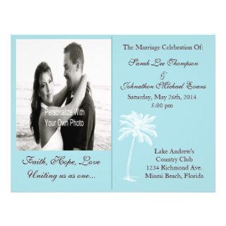 Blue Beach Getaway Programs Flyer