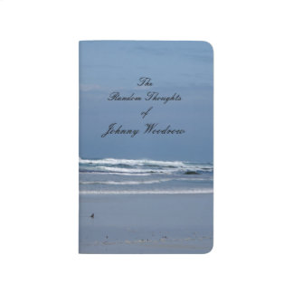 Blue Beach of Thoughts Journal