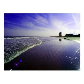 Blue Beach Postcard