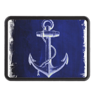 blue beach rustic shabby chic nautical anchor tow hitch cover