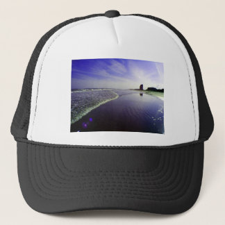 Blue Beach Trucker Hat