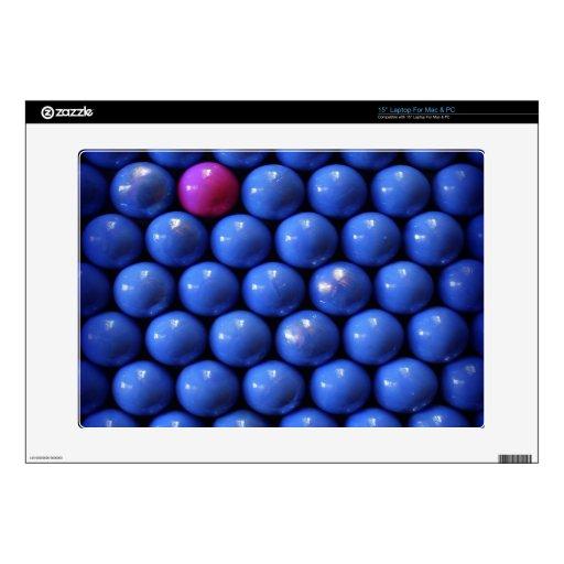 """blue beads design skins 15"""" laptop skin"""