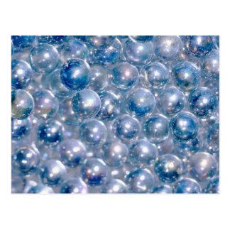 Blue Beads Postcard