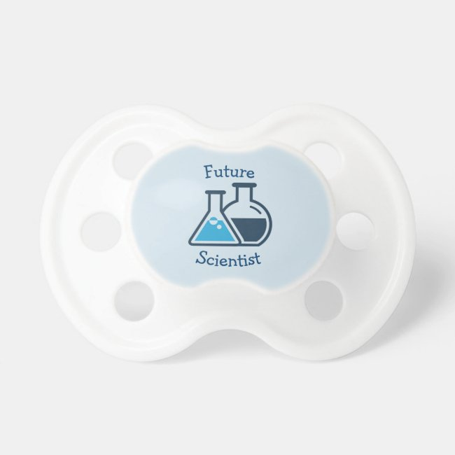 Blue Beakers Science Chemistry Design Pacifier