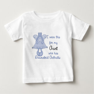 Blue Bear Angel :: I Wear for My Aunt RA Design Baby T-Shirt