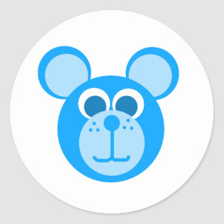 blue bear stickers