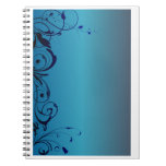 Blue Beautiful And Simple Note Books