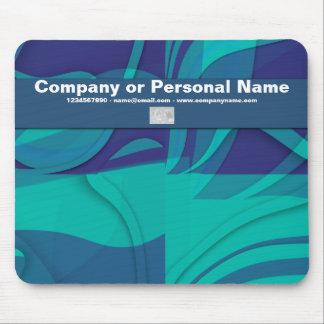 Blue Beauty business cards - customizable Mousepad